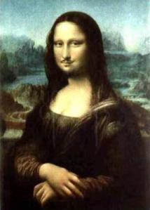 Marcel Duchamp. Mona Lisa con bigote (1919)