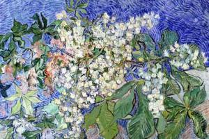Vincent Van Gogh. Ramas de castaño en flor (1890)