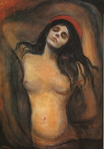 Edvard Munch. Madonna (1895-1904)