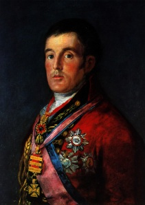 Goya, Retrato del Duque de Wellington (1812-1814)