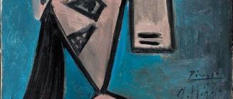 Pablo Picasso. Cabeza de mujer (1939)
