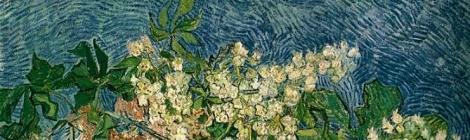 Van Gogh. Ramas de castaño en flor (1890)