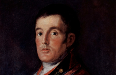 Goya. Retrato del Duque de Wellington (1812-1814)