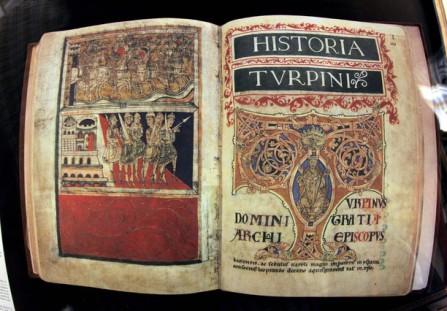 Edición facsímil del Códice Calixtino de Santiago de Compostela. EFE/ Lavandeira jr.