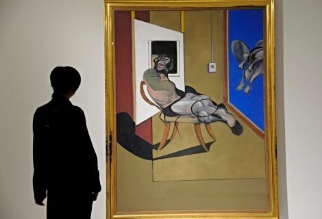 """Exposición """"Francis Bacon y la condición existencial en el arte contemporáneo"""" en el Palazzo Strozzi, Florencia. EFE/Maurizio Degl'Innocenti"""