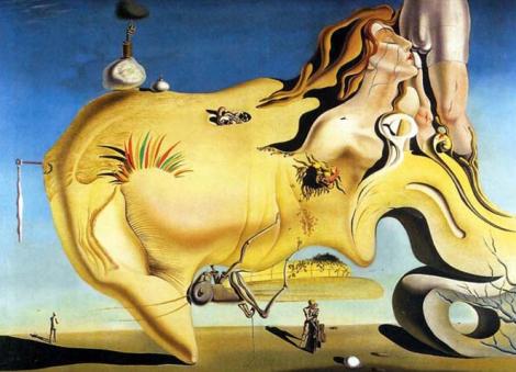 Salvador Dalí. El gran masturbador (1929)