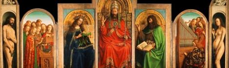 Van Eyck, Retablo del Cordero Místico (1432)