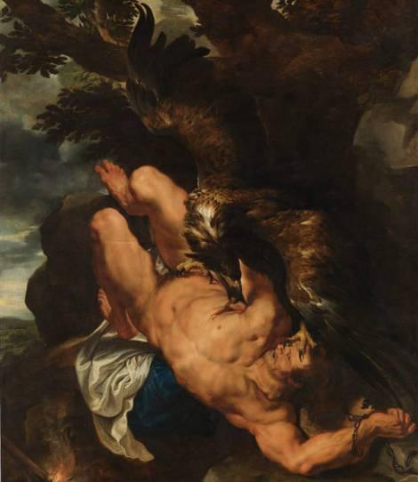 Rubens y Frans Snyders. Prometeo encadenado, Philadelphia Museum of Art