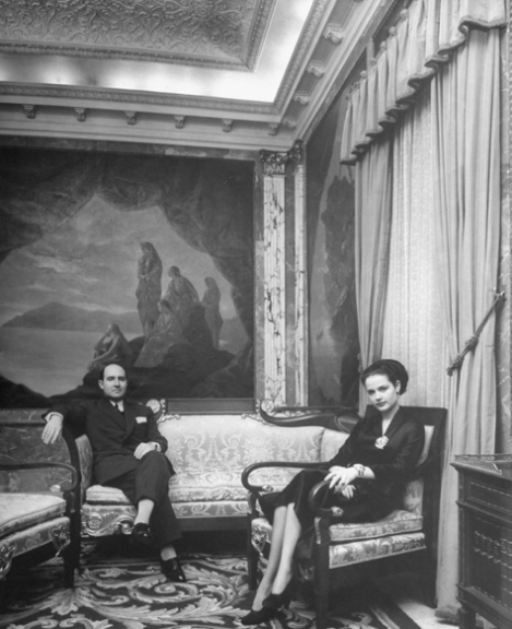 Julio Muñoz y Carmen Villalonga. Archivo Time Life, Getty Images
