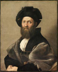 Rafael. Retrato de Baldassare Castiglione (1514-1515).