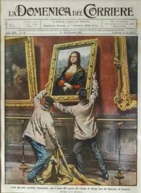Portada de La Domenica del Corriere. 10 de septiembre de 1911.