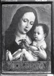 Anónimo, Escuela Hispano Flamenca. Virgen con el Niño (S. XV)