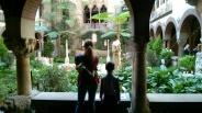 Museo Isabella Stewart Gardner, jardines interiores (Foto: albertis-window.com)