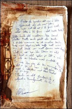 Confesión de Pal Enger sobre el robo de El Grito de febrero de 1994 (Foto: Trond Solberg, VG)