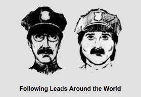 Retrato de los sospechosos del robo Gardner. Foto: FBI, 2013